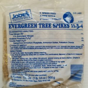 Fertilizer – Jobe's Evergreen Tree Spikes