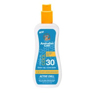 Sunscreen Australian Gold Spray Gel Sport – SPF 30