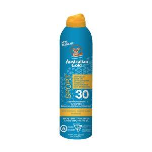 Sunscreen Australian Gold Continuous Spray Sport – SPF 30