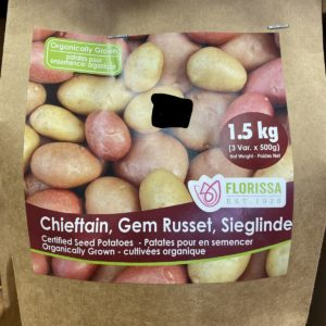 Seed Potato Organic Combo Sack