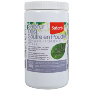 Fungicide – Safer's Sulphur Dust 300g