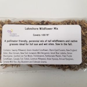 WILDFLOWER SEED MIX LAKESHORE 100 SQ FT
