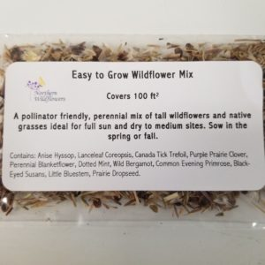 WILDFLOWER SEED MIX EASY TO GROW 100 SQ FT