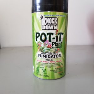 KNOCK DOWN POT-IT FUMIGATOR
