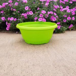 GREEN BOWL PLANTER