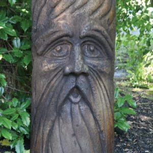 BEARDED BARLEY FACE STATUE