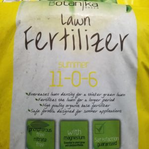 LAWN FERTILIZER- SUMMER