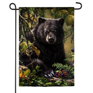 BLACK BEAR GARDEN FLAG
