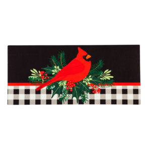 CHRISTMAS CARDINAL SWITCH MAT