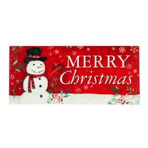HERITAGE SNOWMAN SWITCH MAT