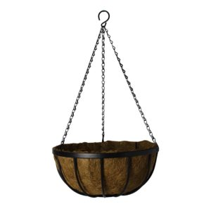 DELUXE HANGING BASKET WITH LINER 12″