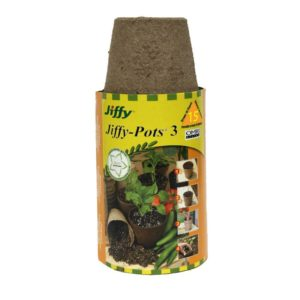 JIFFY POT – 3″ 10 PACK