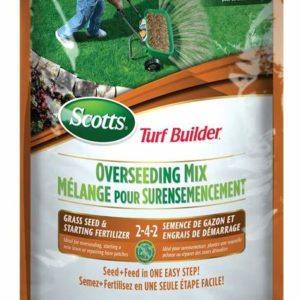 TURFBUILDER® GRASS SEED – OVERSEEDING MIX